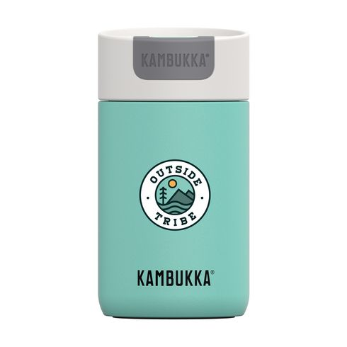 Kambukka Olympus dubbelwandige thermosbeker 300 ml mint